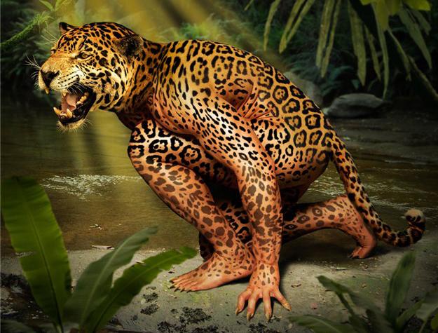 девушка-леопард